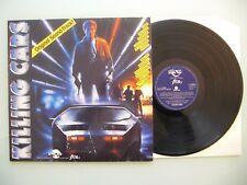 Todd Canedy - Killing Cars Original Sound-Track, '1986, LP, Vinyl: m-
