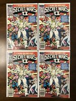 MARVEL SUPER HEROES SECRET WARS 2 II #6 Newsstand Lot Of 4.