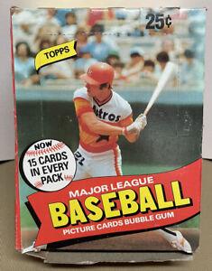 1980 TOPPS WAX BOX 36 ORIGINAL UNOPENED Untouched PACKS HENDERSON Baseball Cards