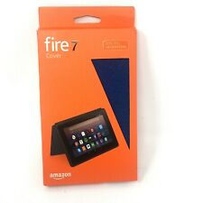 Amazon Fire 7 Tablet Case Cover Marine Blue 7th Generation NEW