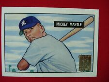 "1996 TOPPS MANTLE  1951 BOWMAN MICKEY MANTLE ""RC"" REPRINT INSERT #1 ~SUPER NICE~"