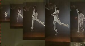 """Vtg Original 1992 Nike Air Jordan Imagination Bulls Dunk Poster 21"""" X 38 1/2"""""""