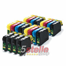 KIT 20 CARTUCCE PER EPSON STYLUS OFFICE BX625FWD BX630FW BX635FWD BX305F
