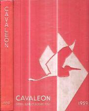 Rare 1965 Coral Gables Senior High School Florida Illustrated First Edition