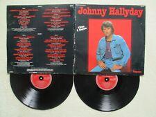 "2 LP 33T JOHNNY HALLYDAY ""Vol 7 & 8"" IMPACT 6995 114 FRANCE 1975 /"