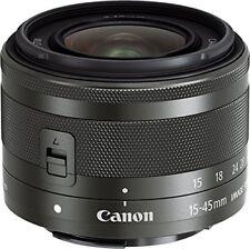 Canon Standard Zumurenzu Ef-M15-45Mm F3.5-6.3Is Stm (Graphite) Miralles