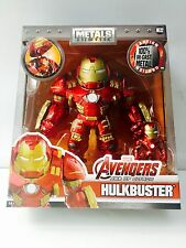 METALS DIE CAST HULKBUSTER & IRON MAN ACTION FIGURE 2 PACK M132 JADA 16cm / 5cm