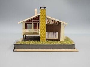 Kibri HO Scale 2-Story House (Built)