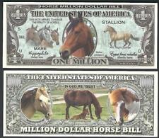 HORSES Million Note ~  Fantasy Note ~ Nice note