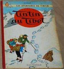 Tintin  -20- /Tintin au Tibet / EO Belge B29  1960 / BE