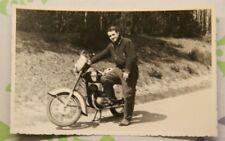 Wanduhr mit Motiv MZ Motorrad Biker Motorradmotiv Bikermotive Kult Sammler