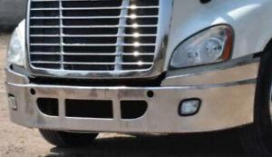 2007-2017 Freightliner Cascadia Chome Top Bumper Filler - Pair # 16040 -16041