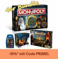 Herr der Ringe Bundle Monopoly Risiko Trivial Pursuit Top Trumps Hobbit 2 Spiel