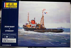 1956 Jean Bart & Utrecht Hochseeschlepper Twinset 1:200 Heller 85602