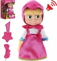 Masha Doll from Cartoon Masha and Bear Toys - Russian Speaking Doll for Girls