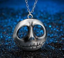 The Nightmare Before Christmas Jack Skellington Retro Silver Necklace Cool Gift