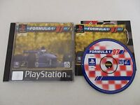 FORMULA 1 97 - SONY PLAYSTATION - JEU PS1 PSX COMPLET PAL FR