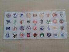 Fußball Magnete versch. Vereine, z.B. Eintracht, Gladbach, VfL, Hertha; 1 Stück