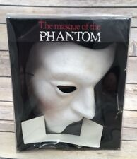 Vintage 1988 The masque of the Phantom of the Opera Mask Papier Paper Mache