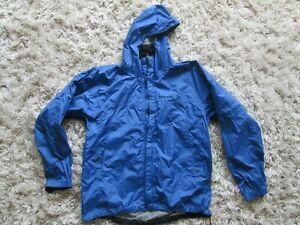 Marmot Precip Rain Jacket Men's Large Blue Waterproof Vented Full Zip