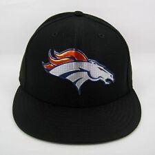 New Era Para hombre NFL Denver Broncos Negro Colección 5950 Casquillo Cabido - 7 3/8