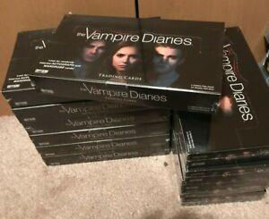 VAMPIRE DIARIES SEASON 1 Cryptozoic Trading Card SEALED BOX - Autograph Wardrobe