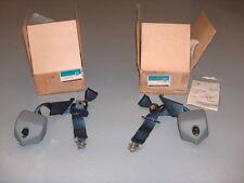 1989-1992 Geo Prizm GM NOS Rear Safety Seat Shoulder Belt Partial Kit RH LH Pair