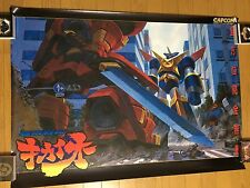 Tech Romancer / Choukou Senki Kikaioh Original B1 Arcade Poster Japan CAPCOM