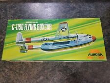 Aurora vintage 1/72 FAIRCHILD C-119C Flying Boxcar AVION bon état RARE