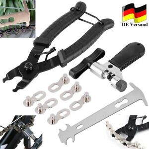DHL Fahrrad Link Zange + Fahrrad Ketten Werkzeug + Ketten Prüfer Reparatur Set