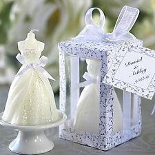 1x Beauty Bridal Bride Shape Candle Wedding Party Favor Bridal Shower Boxed .