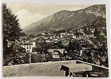 Cartolina vera foto Bromofoto Sovere Panorama anni '50 bianco e nero viaggiata