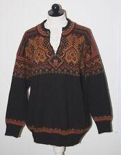 Dale Of Norway Salt Lake 2002 Olympic Wool Norwegian Zip Pullover Ski Sweater L