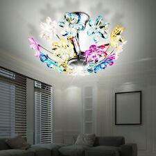 Flora Decken Leuchte Blumen Jugend Zimmer Lampe chrom Gäste Zimmer Blüten Fluter
