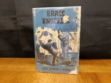Brass Knuckles By Rev. Raymond J. O'brien 1930 Benziger Bros. Religious Fiction