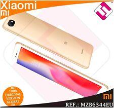 TELEFONO MOVIL XIAOMI REDMI 6A 2GB RAM 16GB ROM SMARTPHONE GLOBAL DORADO ORO