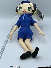 "Nwt/ Betty Boop Police Woman 16"" Plush KellyToy"