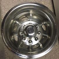 "Ford 16"" Steel Wheel Simulator Dually 8 Lug 4 Hole Cover Rim RV Skin"