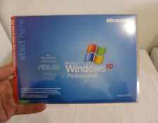 Genuine WINDOWS XP PROFESSIONAL Software 2002 SEALED with ASUS PC recovery disks