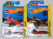 2015 HOT WHEELS RLC FACTORY SET OFF ROAD CLOUD CUTTER X2 BOTH COLORS