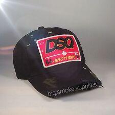 Marca Dsquared - Dsquared2 Cap - nuevo con etiquetas / nuevo estilo / DSQ / negro / 📮📮