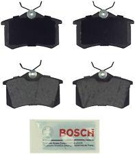 For VW Passat Jetta Golf Audi A4 TT Quattro Rear Blue Disc Brake Pads Bosch