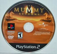 The Mummy Returns (Sony PlayStation 2, 2001) PS2 Video Game MINT