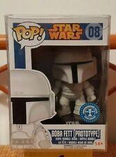 Funko Pop! Star Wars #08 BOBA FETT PROTOTYPE EXCLUSIVE