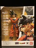 DRAGON BALL Z Bandai S.H. Figuarts Son Goku Saiyan Raised On Earth