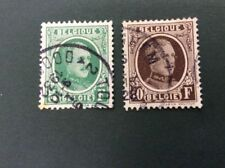 2 Number European Stamps
