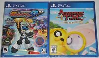 PlayStation 4 Game Lot - Adventure Time Finn & Jake (New) Mighty No. 9 (New)