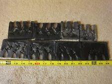 Rare! Vintage 30mm tin, lead, plastic toy British, European soldiers, mold lot.