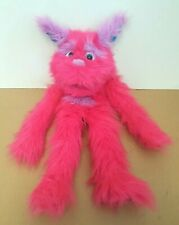 """Large 23"""" PUPPET COMPANY PINK MONSTER HAND PUPPET - Fluffy"""