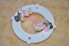 1pc 2pin Ceramic Tube Socket For 833 833A GU48 FU33 PL833A New